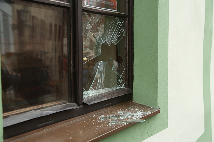 A2B Glass are able to board up broken windows while they are being repaired in Bickley.
